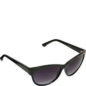 Modified Cat Eye Sunglasses Black
