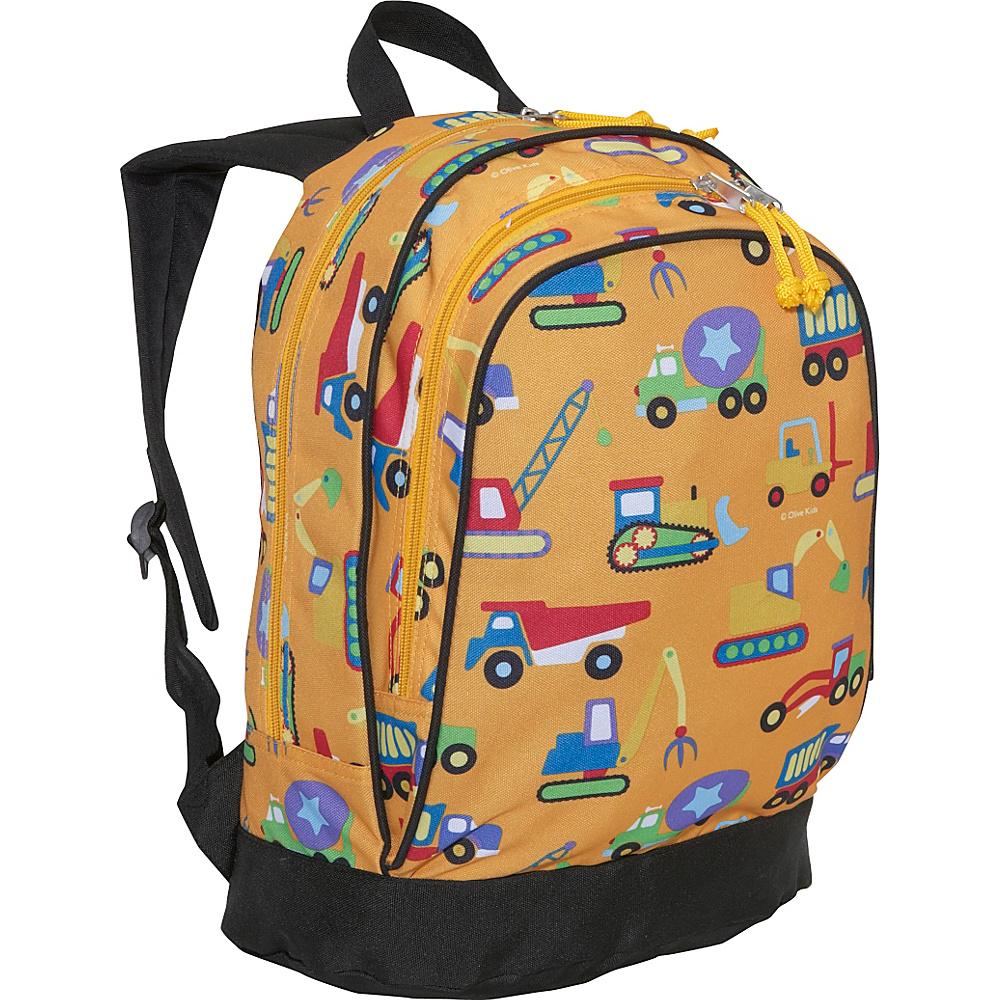 Wildkin Olive Kids Under Construction 15 Inch Backpack Under Construction - Wildkin Everyday Backpacks - Backpacks, Everyday Backpacks