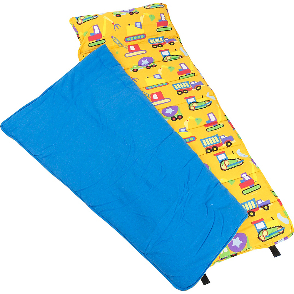Wildkin Olive Kids Under Construction Nap Mat - Under - Travel Accessories, Travel Pillows & Blankets