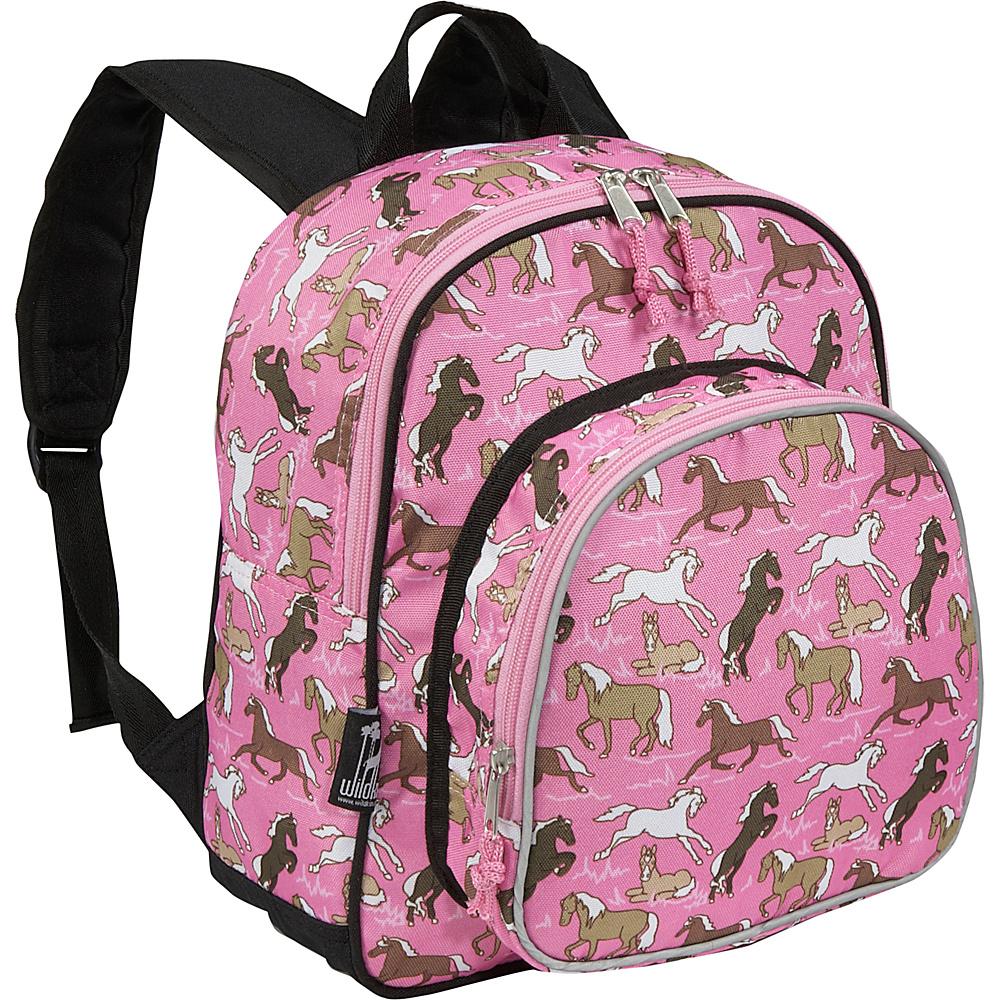 Wildkin Horses in Pink Pack n Snack Backpack - Horses - Backpacks, Everyday Backpacks