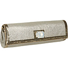 Buy Whiting and Davis Trim Baguette Clutch by Whiting and Davis