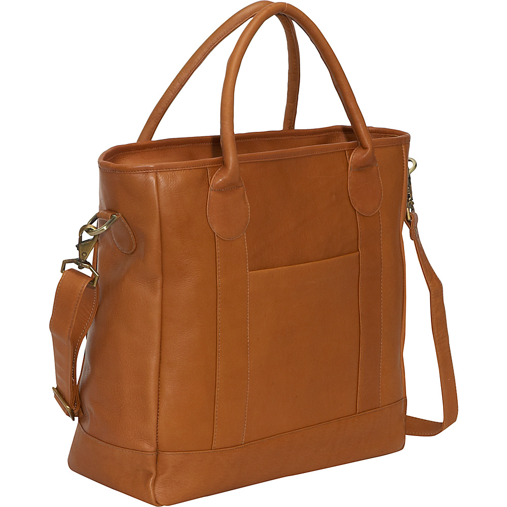 Clava Leather Tote - Vachetta Tan - Handbags, Leather Handbags