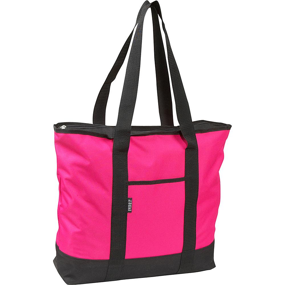 Everest Shopping Tote - Hot Pink - Handbags, Fabric Handbags