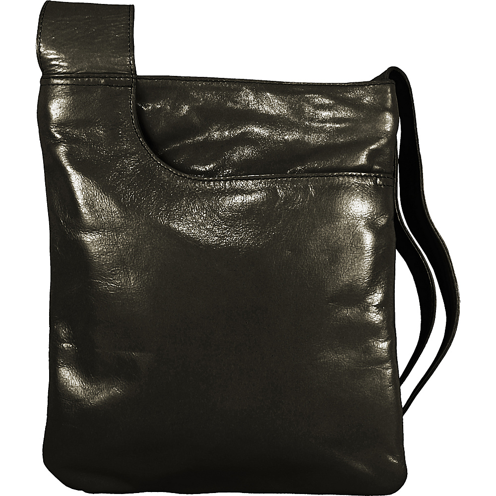 Latico Leathers Athena Crossbody Black - Latico Leathers Leather Handbags - Handbags, Leather Handbags