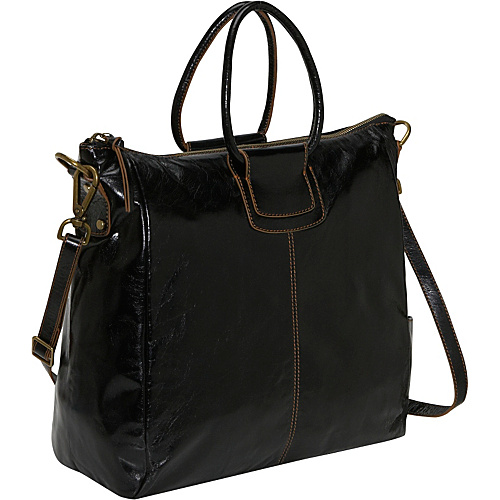 Hobo Sheila Tote Black - Hobo Leather Handbags