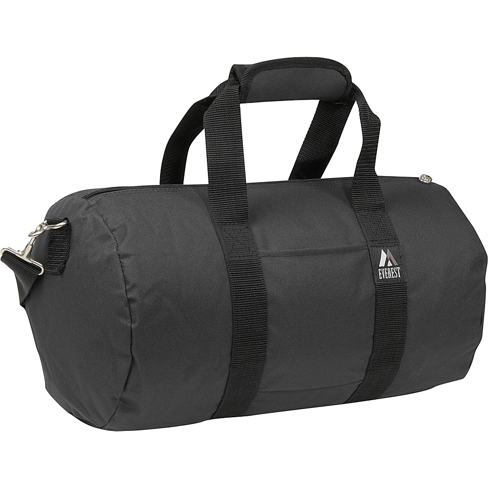 Everest 16 Round Duffel - Black - Duffels, Travel Duffels
