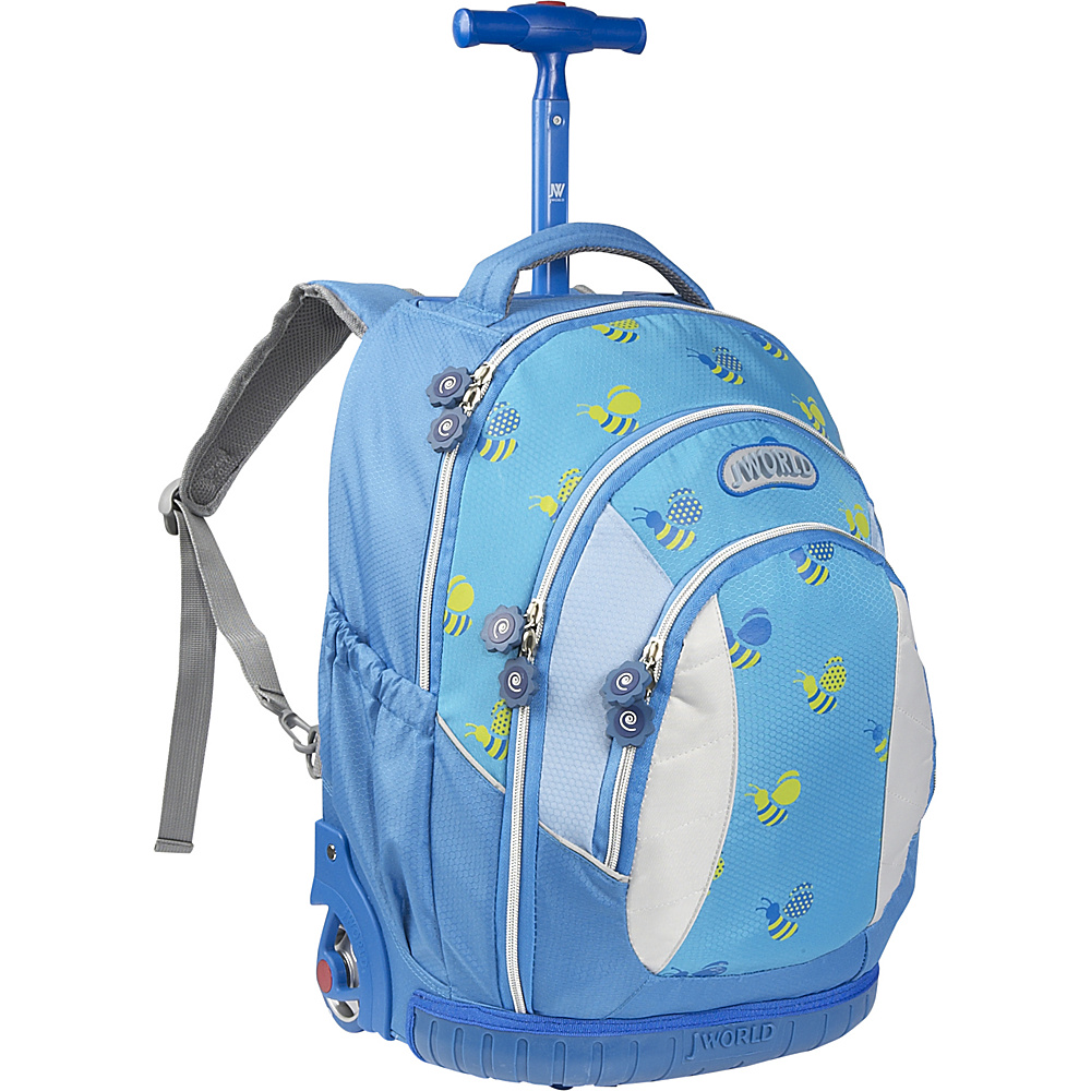 J World Sweet Kids Rolling Backpack (Kids ages 5-9) - Backpacks, Rolling Backpacks