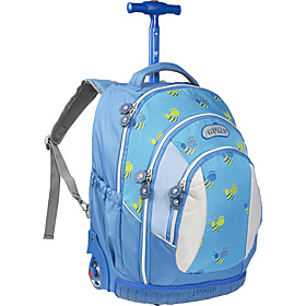 Sweet Kids Rolling Backpack (Kids ages 5-9) Bees