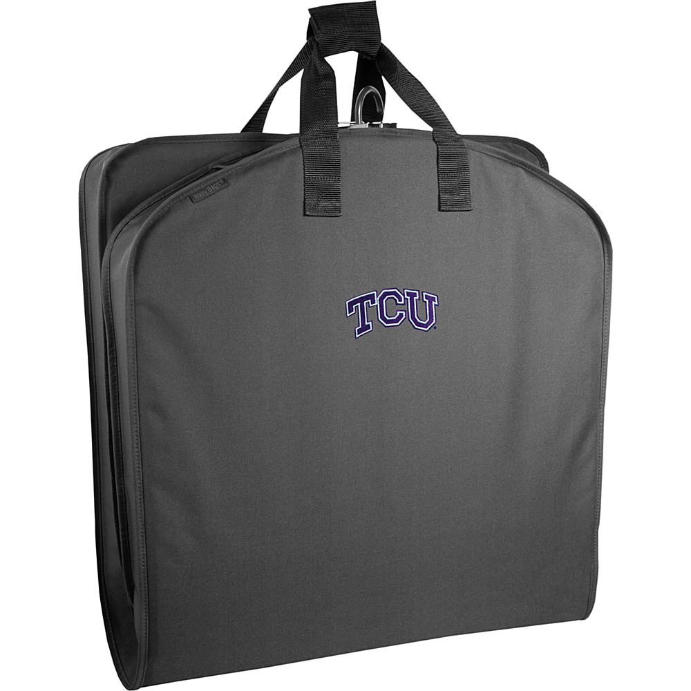 Wally Bags Texas Christian University 40 Suit Length - Luggage, Garment Bags