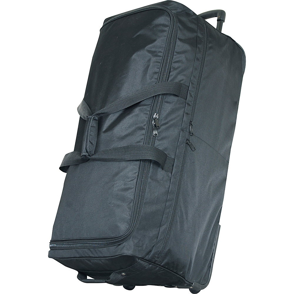 Netpack 35 Ultra Simple Wheeled Duffel - Black - Luggage, Rolling Duffels