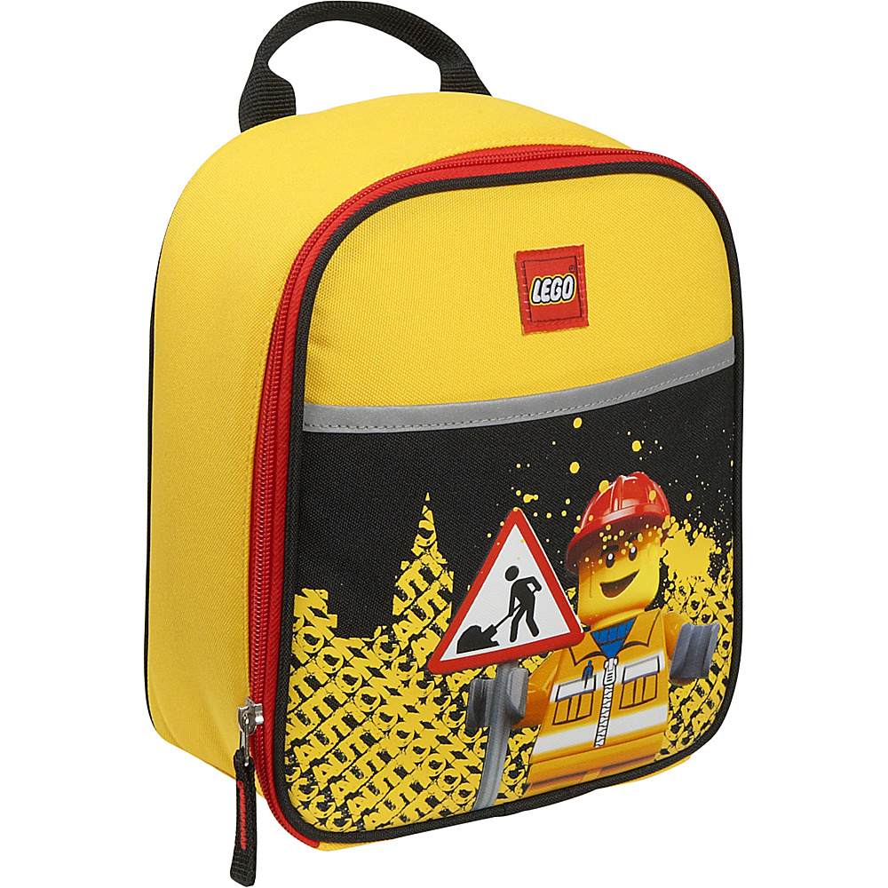 LEGO Construction City Nights Vertical Lunch Bag