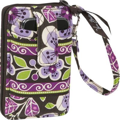 Vera Bradley Carry it all Wristlet-Plum Petals