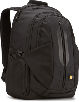 Case Logic Laptop Backpack - 17.3 inch Black - Case Logic Business & Laptop Backpacks
