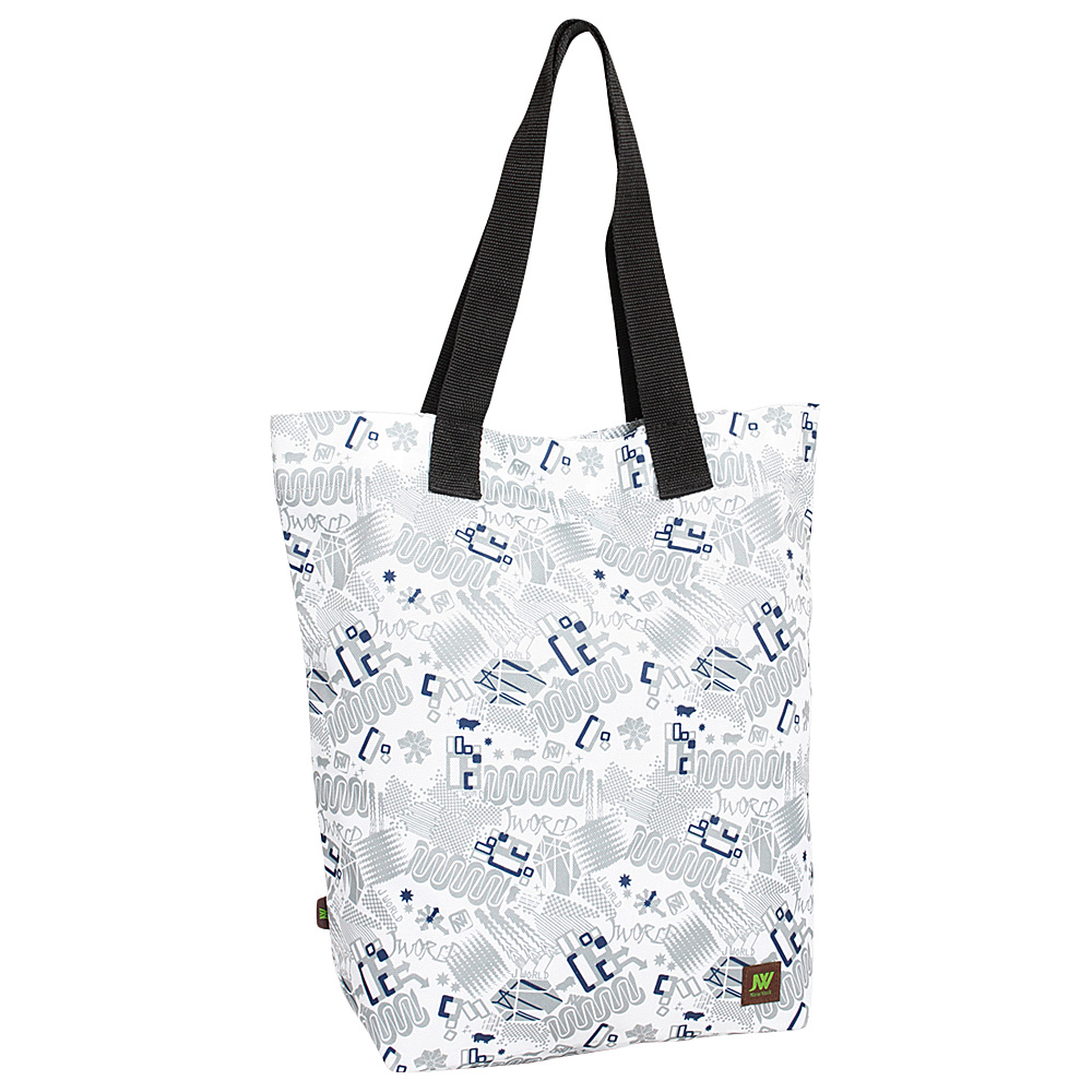 J World New York Leslie Tote Bag Blinker White - J World New York All-Purpose Totes - Travel Accessories, All-Purpose Totes