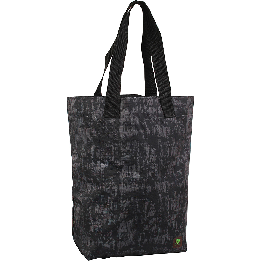 J World New York Leslie Tote Bag Frost Black - J World New York All-Purpose Totes