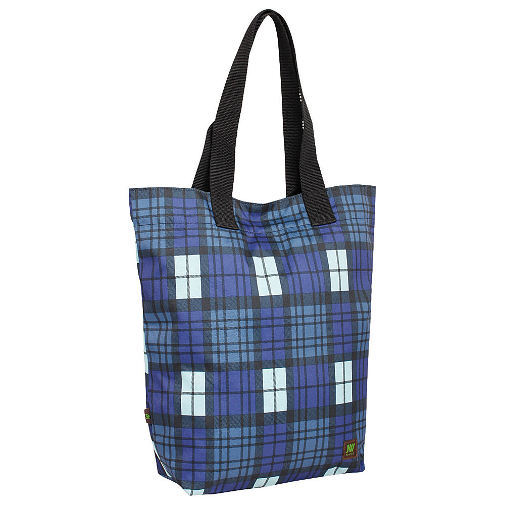 J World New York Leslie Tote Bag Tartan Navy - J World New York All-Purpose Totes