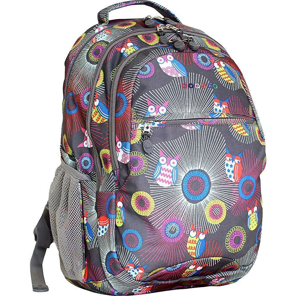 J World New York Cornelia Laptop Backpack BLAZING OWL - J World New York Everyday Backpacks - Backpacks, Everyday Backpacks