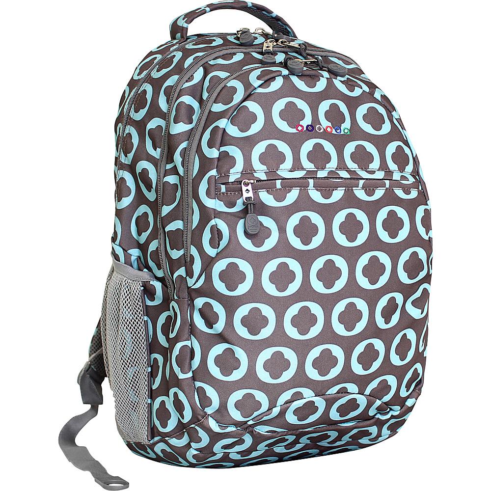 J World New York Cornelia Laptop Backpack CHROME LOGO - J World New York Everyday Backpacks - Backpacks, Everyday Backpacks