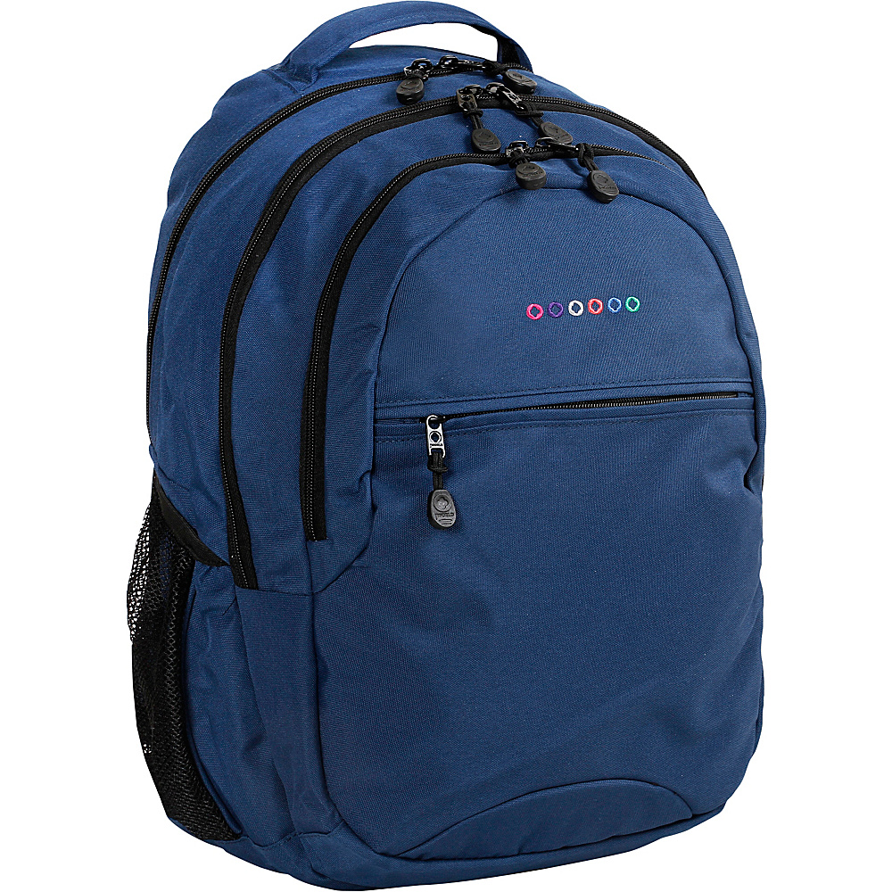 J World New York Cornelia Laptop Backpack Navy - J World New York Everyday Backpacks - Backpacks, Everyday Backpacks