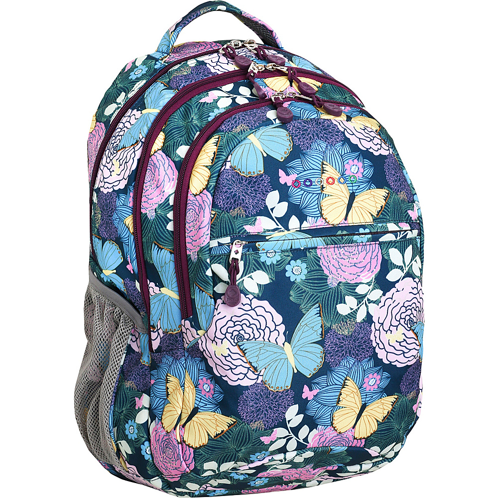 J World New York Cornelia Laptop Backpack Secret Garden - J World New York Everyday Backpacks - Backpacks, Everyday Backpacks