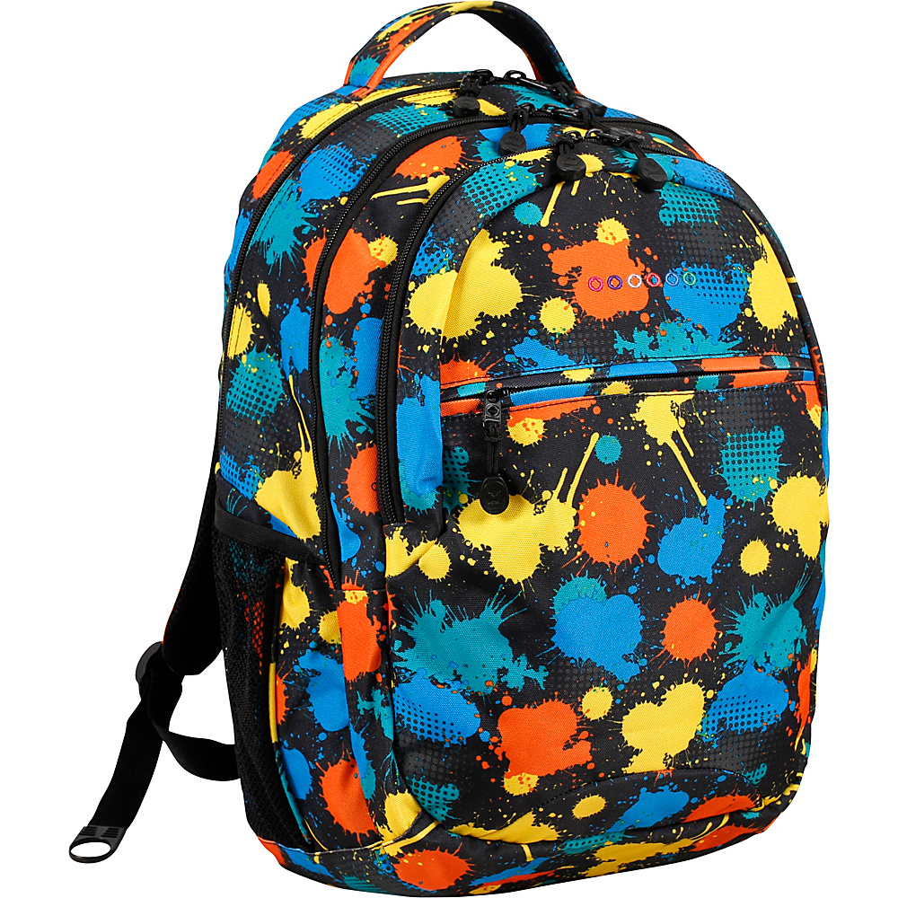 J World New York Cornelia Laptop Backpack Splatter - J World New York Everyday Backpacks - Backpacks, Everyday Backpacks