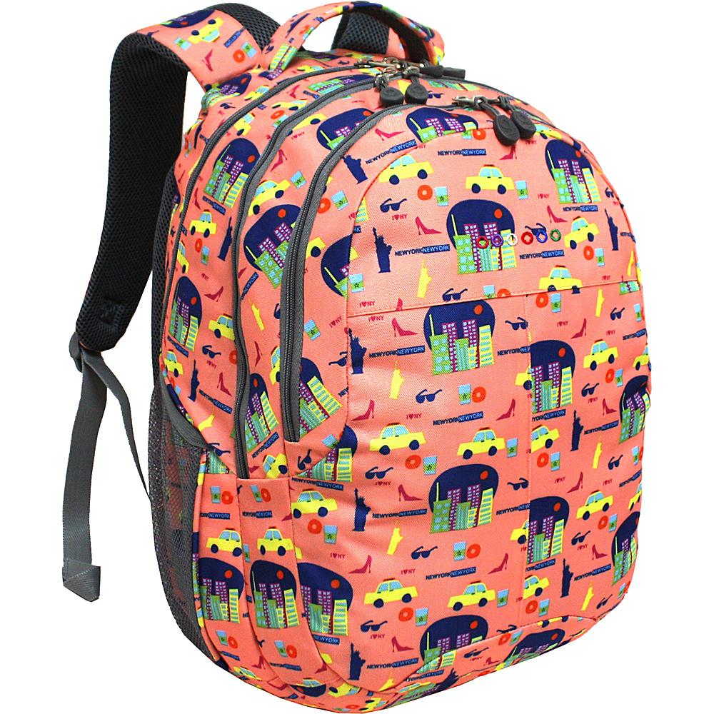 J World New York Cornelia Laptop Backpack NEW YORK - J World New York Everyday Backpacks - Backpacks, Everyday Backpacks
