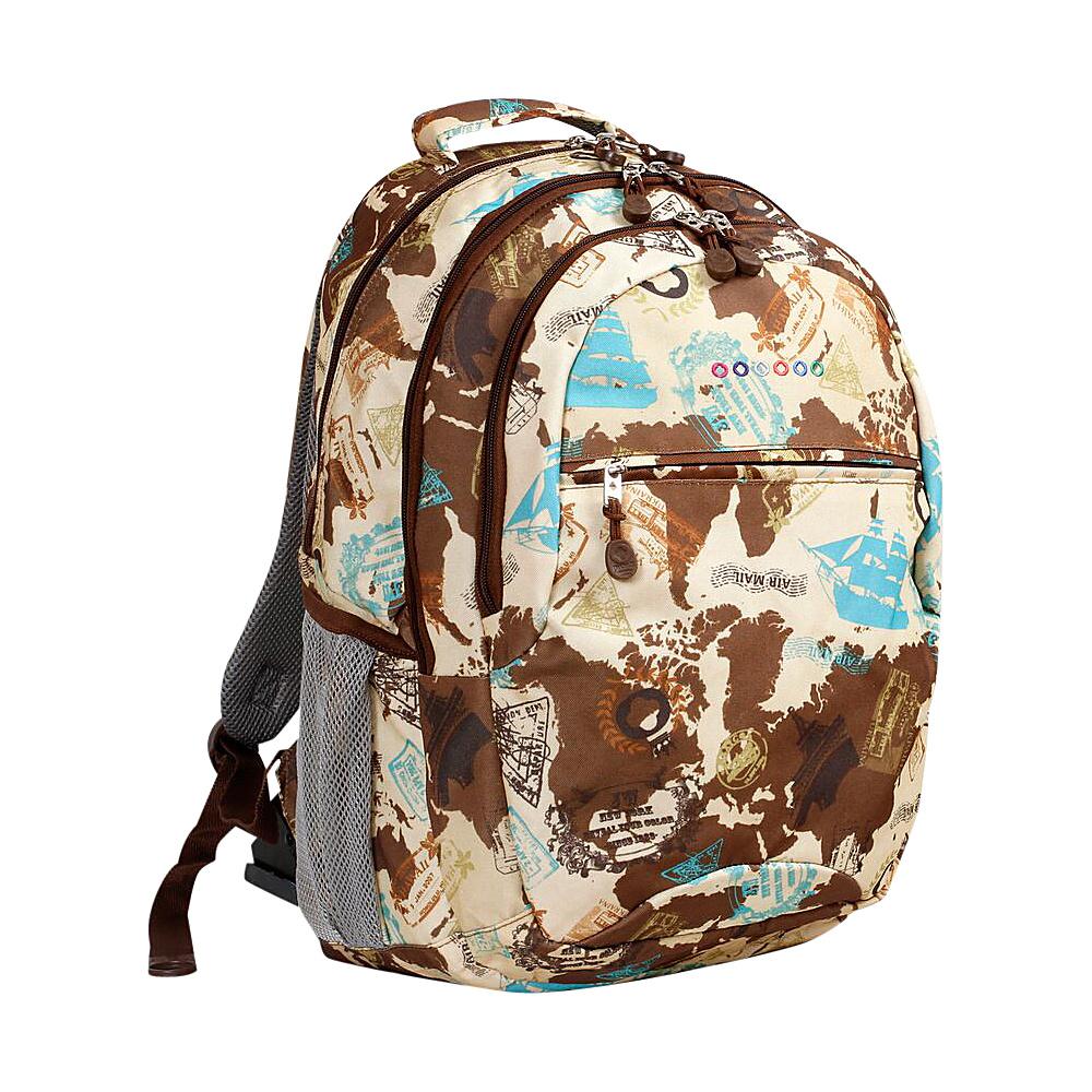 J World New York Cornelia Laptop Backpack Atlas - J World New York Everyday Backpacks - Backpacks, Everyday Backpacks