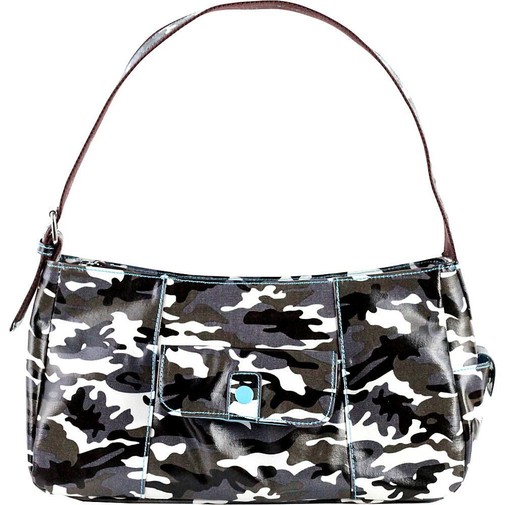 Urban Junket Lauren Hobo Bag Grey Camouflage Urban Junket Fabric Handbags