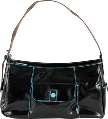 Urban Junket Lauren Hobo Bag Black - Urban Junket Fabric Handbags