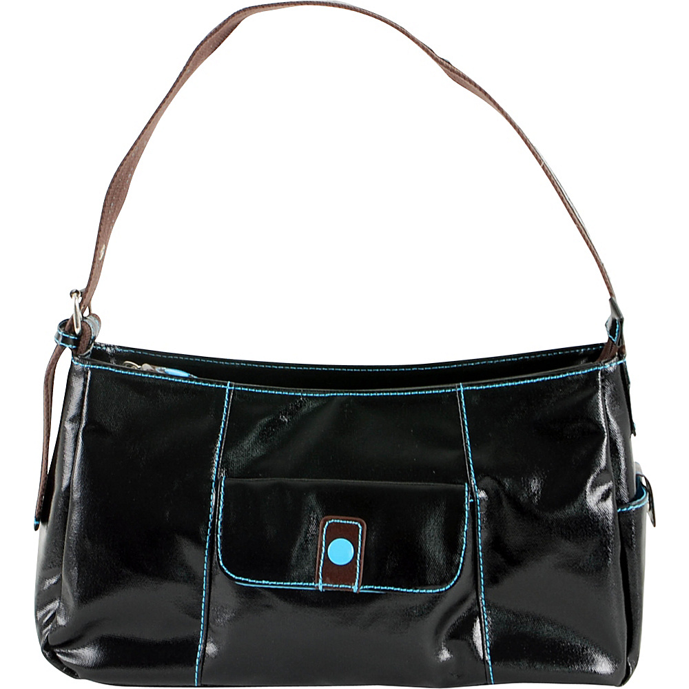 Urban Junket Lauren Hobo Bag Black - Urban Junket Fabric Handbags