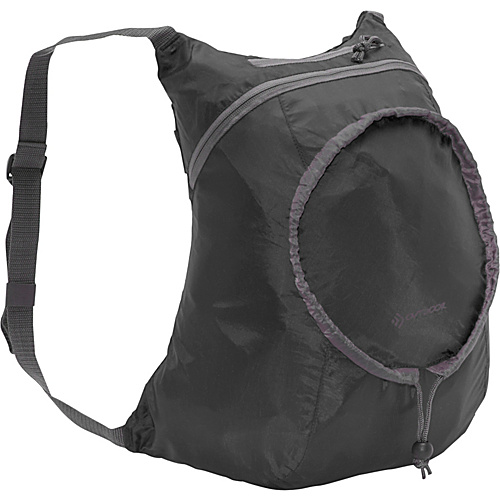 Outdoor Products Packable Day Pack Black - Outdoor Products Lightweight packable expandable bags