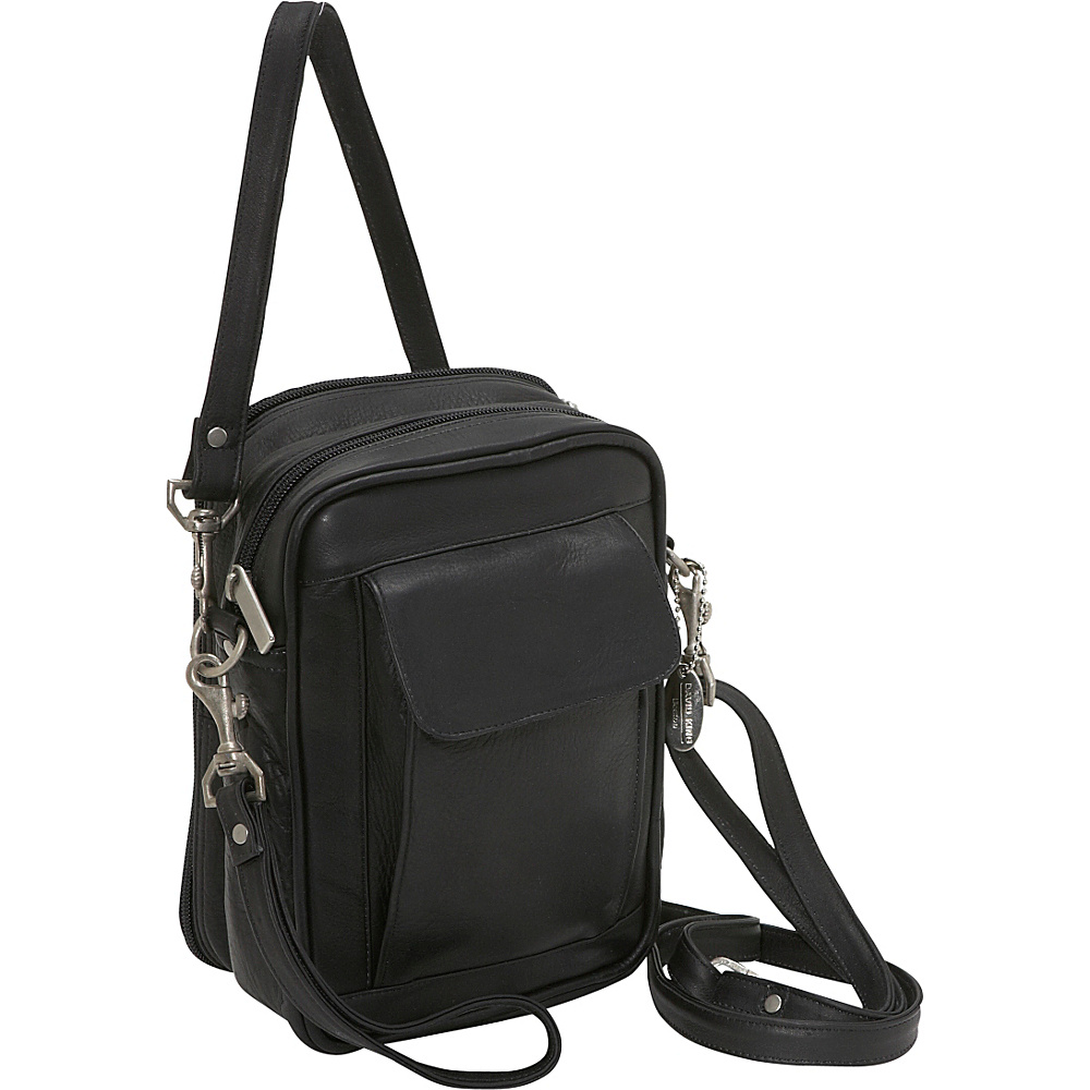 David King & Co. Man Bag With Organizer Black - David King & Co. Other Mens Bags - Work Bags & Briefcases, Other Men's Bags