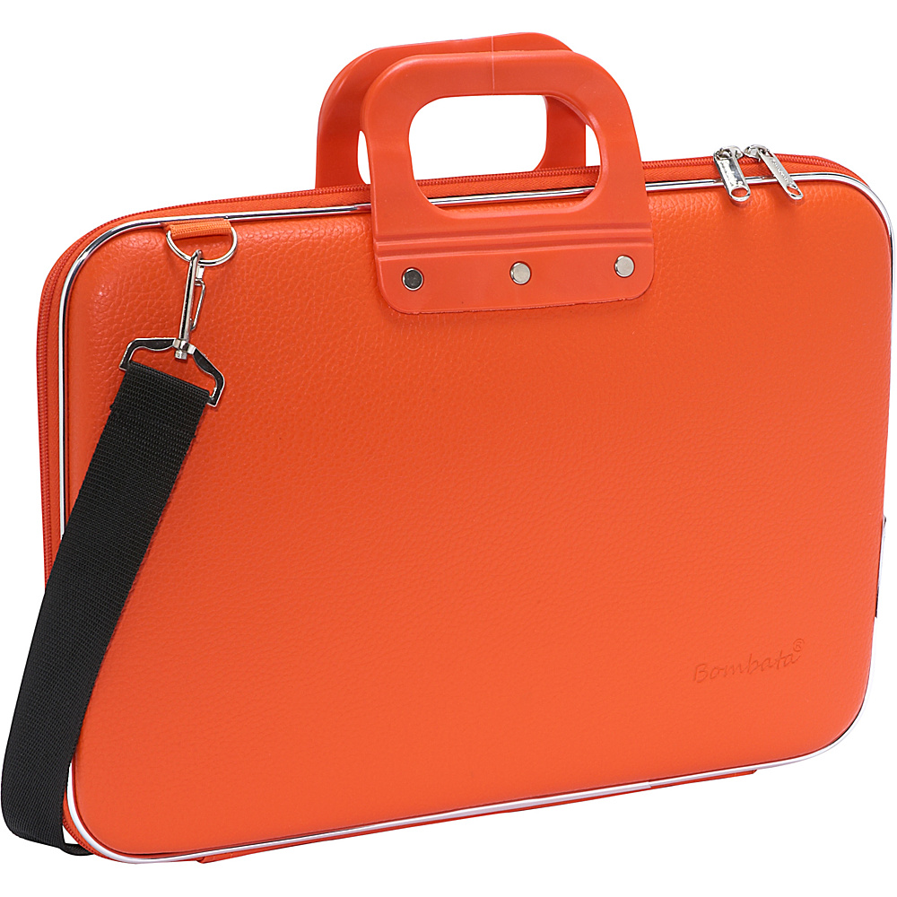Bombata Classic Laptop Briefcase Orange
