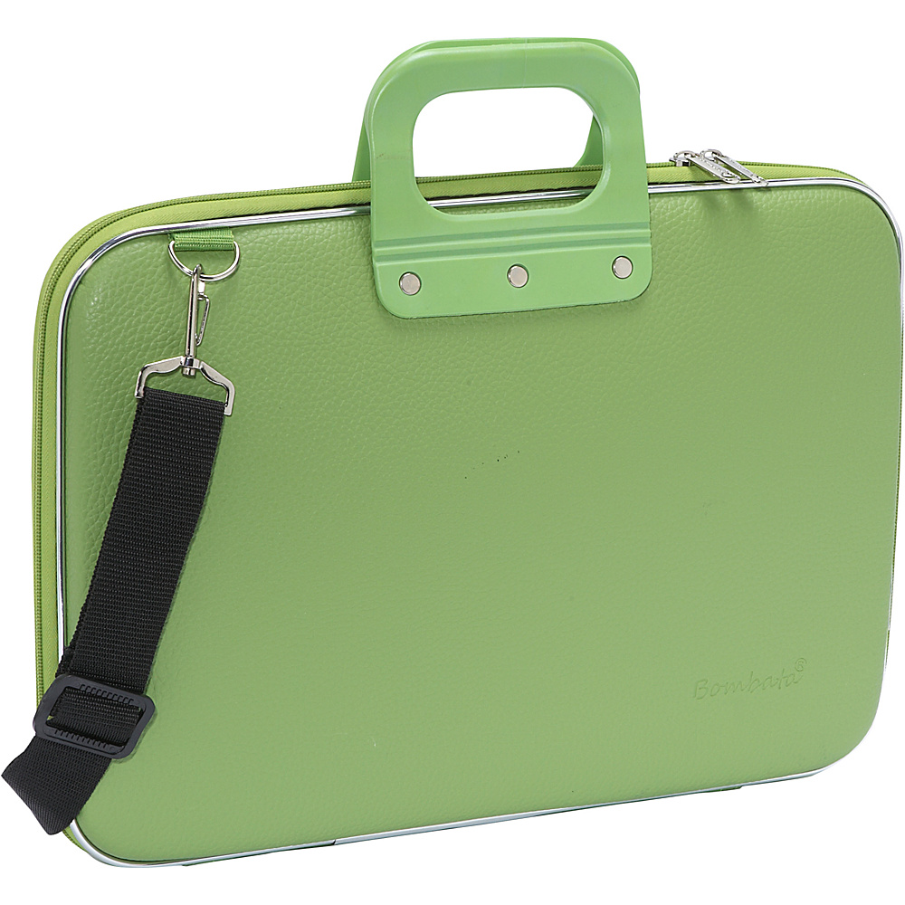 Bombata Classic Laptop Briefcase Green