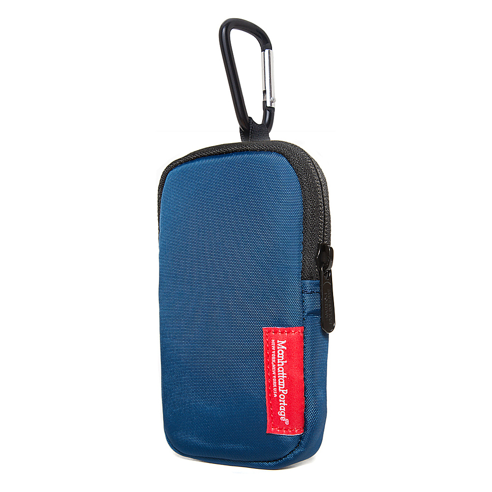Manhattan Portage Nylon Cell Phone Case - M - Navy - Technology, Electronic Cases