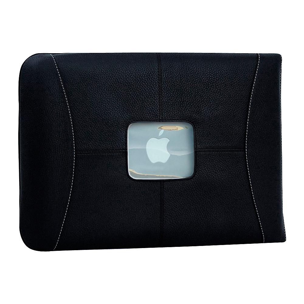 MacCase Premium Leather 11 MacBook Air Sleeve Black