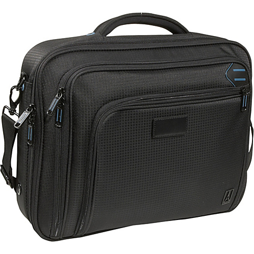 Travelpro Executive Pro Checkpoint Friendly Slim Computer Brief Black - Travelpro Non-Wheeled Computer Cases