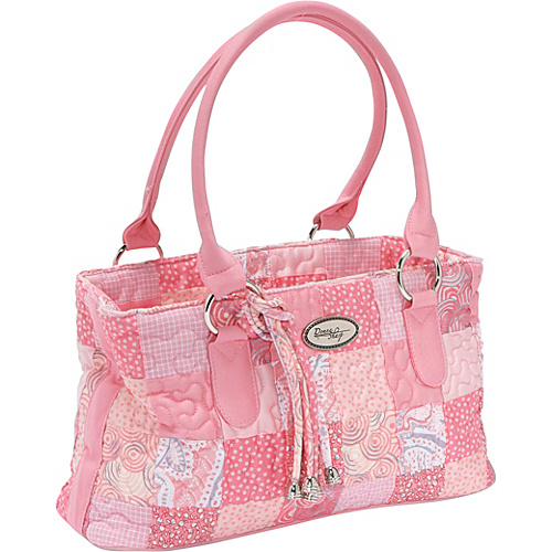 Donna Sharp Reese Bag, Pink Passion - Shoulder Bag