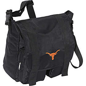Texas Longhorns Sitter Diaper Bag Black