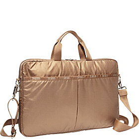 15'' Laptop Bag (Patent) Bronze Lightning