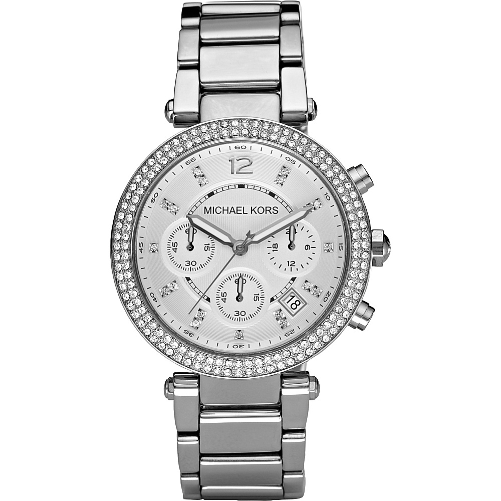Michael Kors Watches Parker Silver