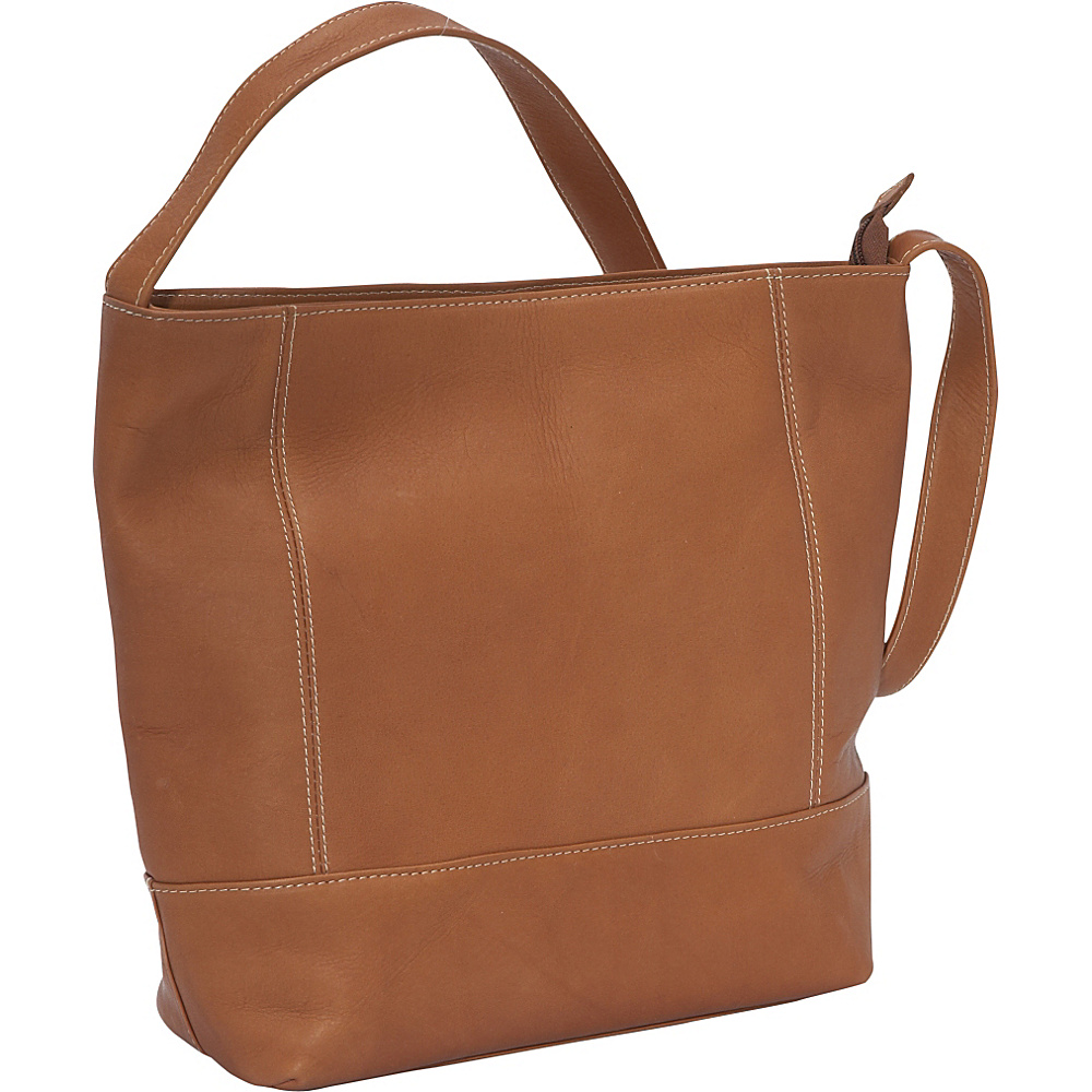 Le Donne Leather Everyday Shoulder Bag - Tan - Handbags, Leather Handbags