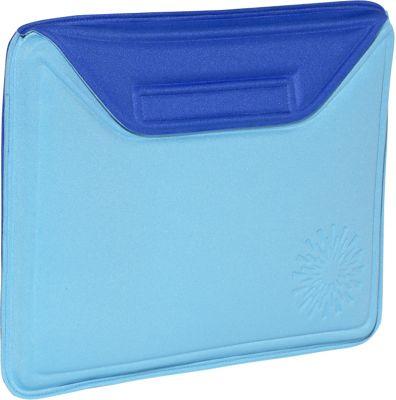 Nuo Molded Sleeve for iPad - Sunburst - Turq Blue-Royal