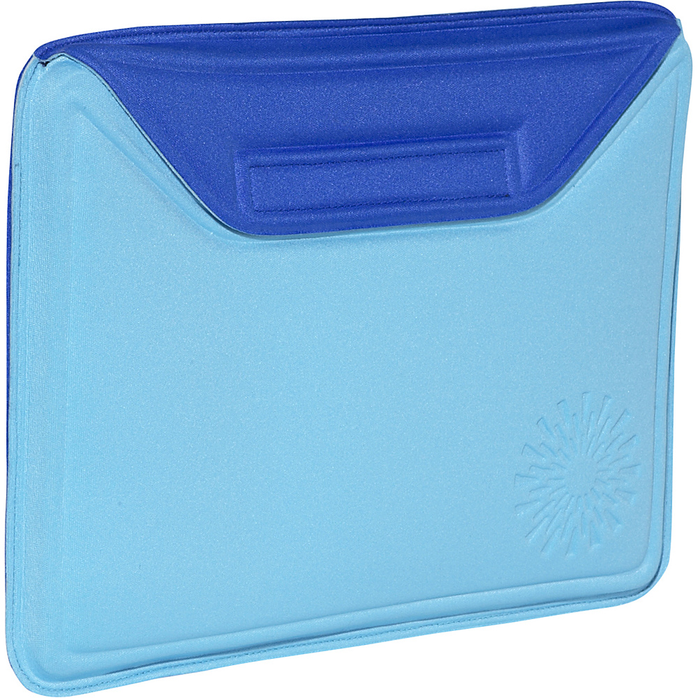 Nuo Molded Sleeve for iPad - Sunburst - Turq Blue-Royal - Technology, Electronic Cases