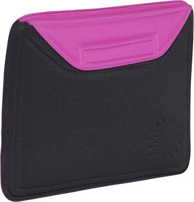 Nuo Molded Sleeve for iPad - Sunburst - Black-Pink