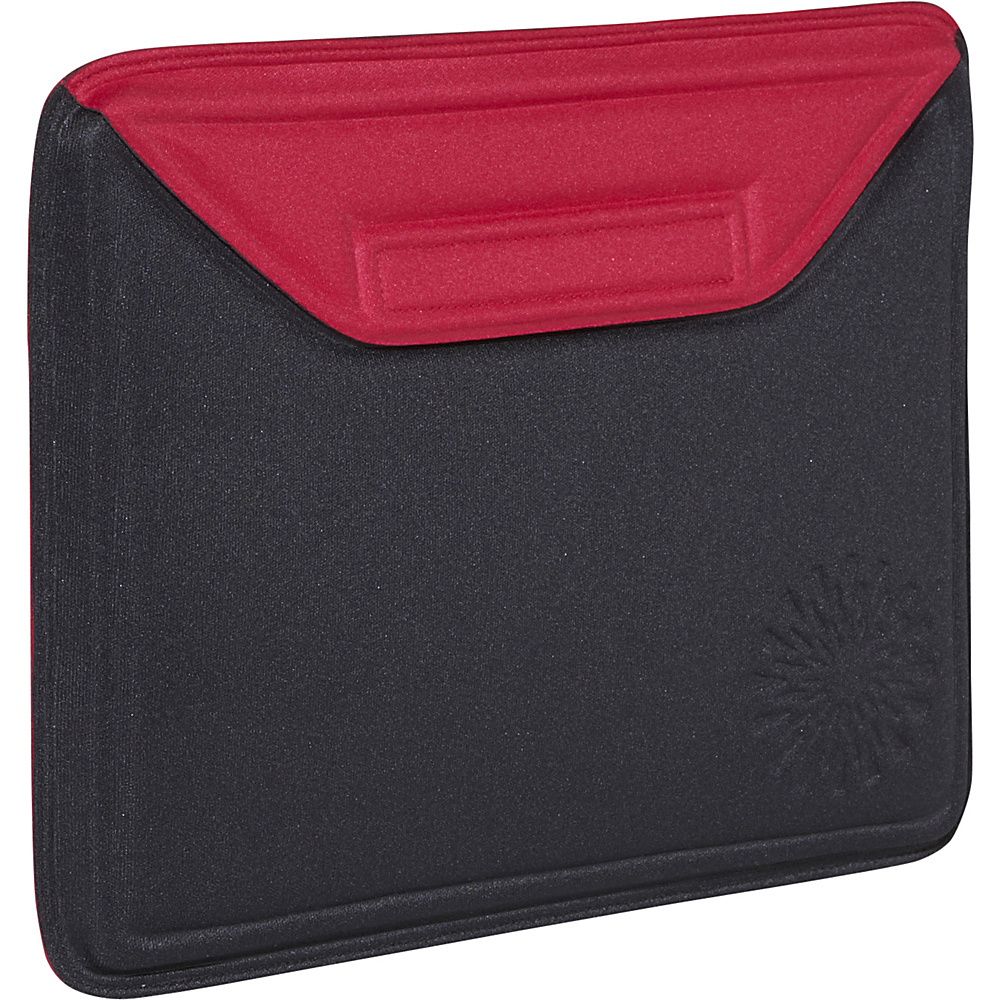 Nuo Molded Sleeve for iPad - Sunburst - Black-Red - Technology, Electronic Cases