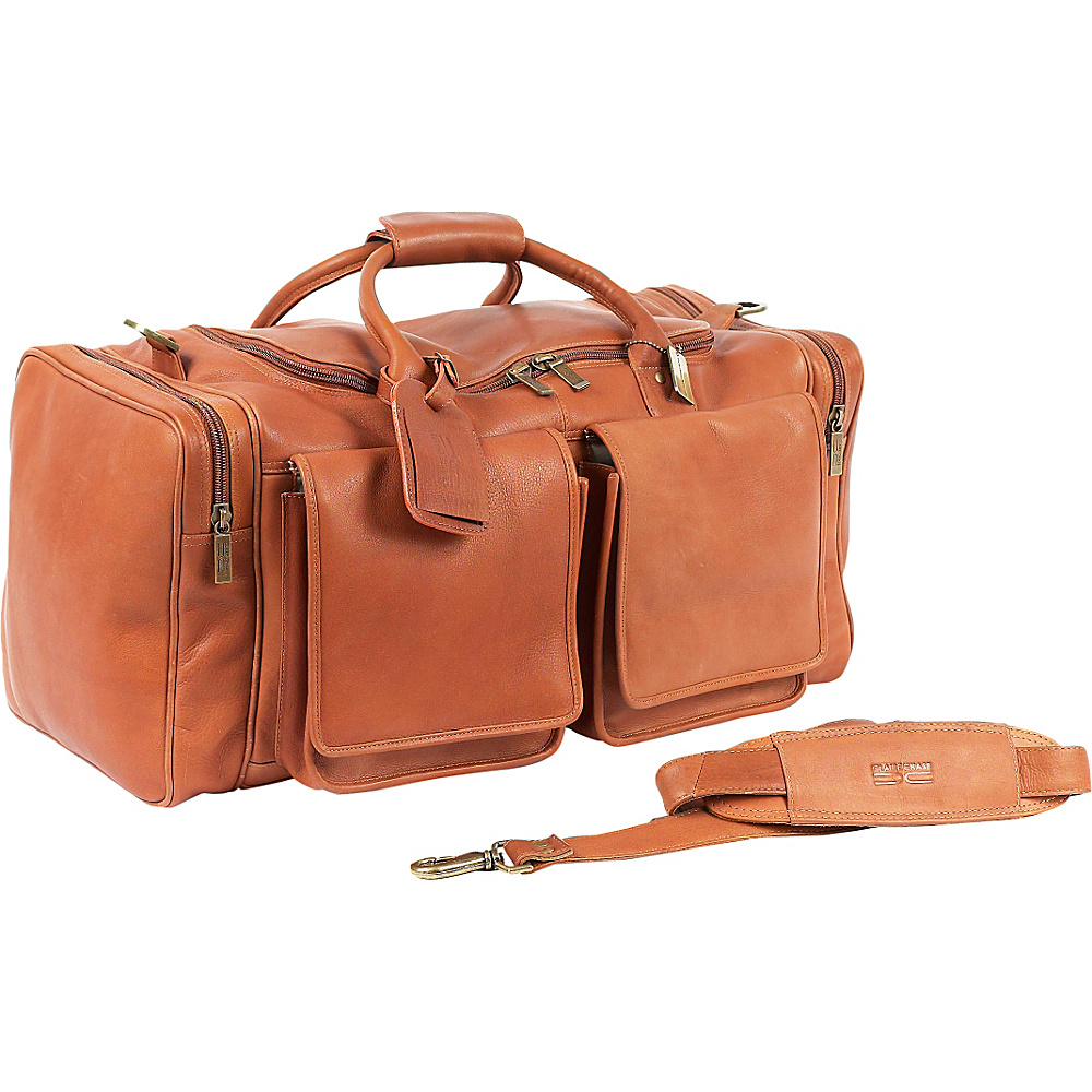 ClaireChase Hamptons Duffel - Saddle - Duffels, Travel Duffels