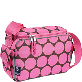 Big Dots Pink Lunch Cooler Big Dots Pink