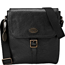 Estate Leather City Bag Black
