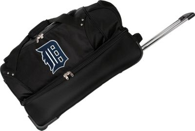 Denco Sports Luggage Detroit Tigers 27 inch Rolling Drop Bottom Duffel